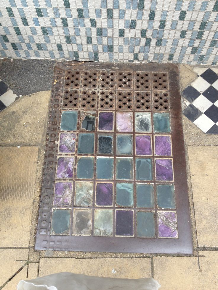 Pavement lights in Deal, Kent