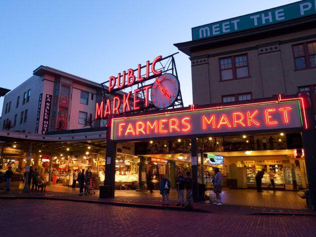 Seattle, WA: Favorite Places, America, Farmers Market, Places I D, Travel, Farmers' Market, Seattle Washington, Pike Place Market