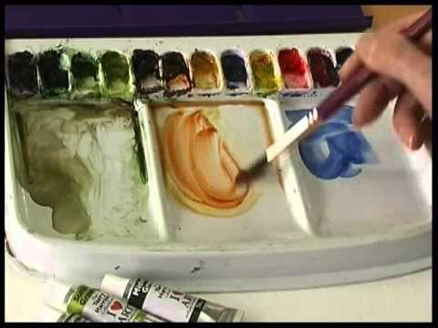 Terry Harrison's Pro Arte Masterstroke Brushes- The Dagger/Striper - YouTube