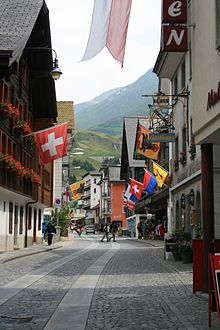 Look at how beautiful Andermatt, Switzerland is in the summer! Hopefully I'll get to experience this in Summer 2014!