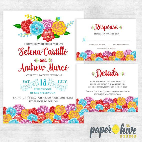 the  best ideas about mexican wedding invitations on, invitation samples