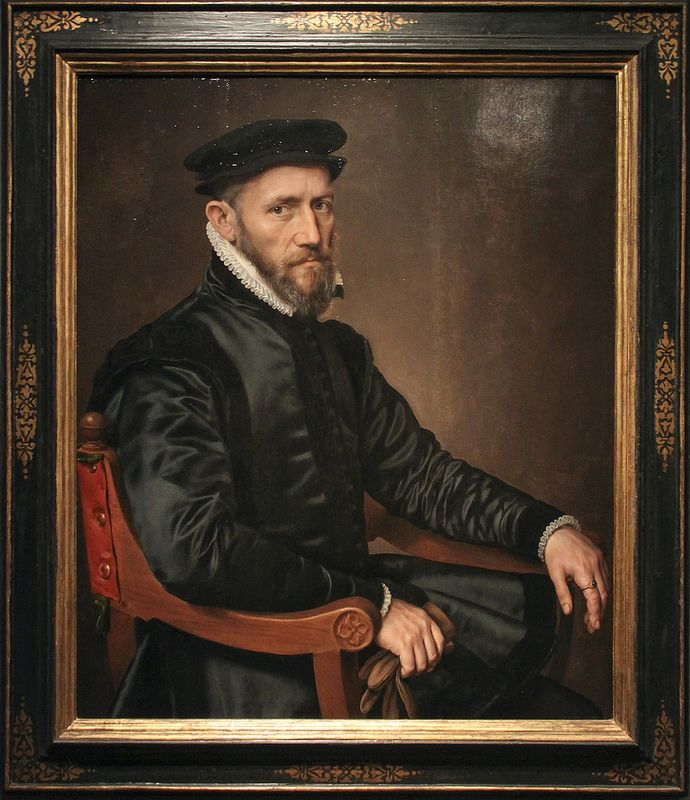Portrait of Sir Thomas Gresham, Anthonis Mor, c.1560-65 | da Kotomi_