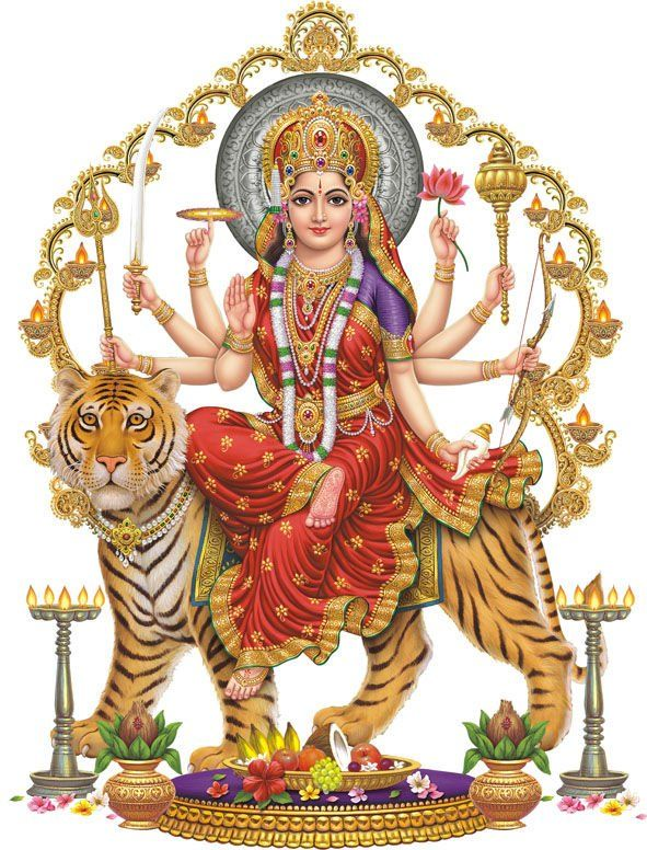 Apple iPhone Custom Case White Plastic Snap on - World Religion Hindu Goddess…
