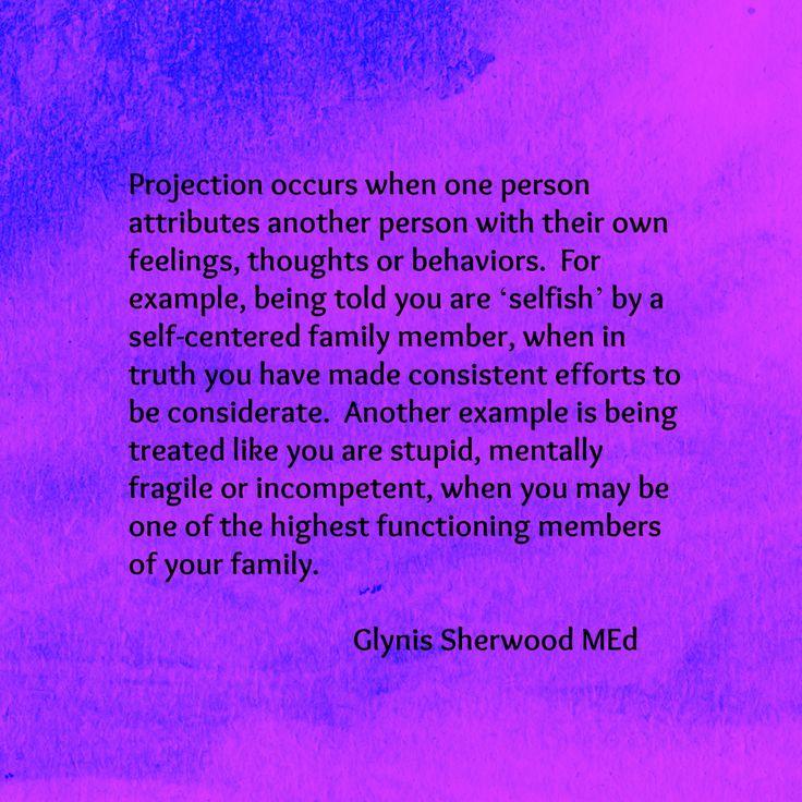 Narcissistic projection, Essay Sample - tete-de-moine com