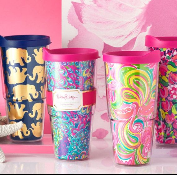 Lilly Pulitzer 24oz Insulated Tumbler by SweetBoutiqueSTL on Etsy