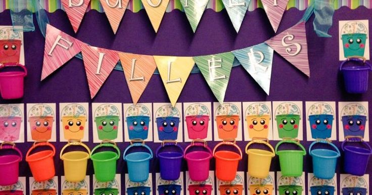 Are you a bucket filler?      The above display was shared with me by Cheryl and Jen on Instagram. You can create a display like the abov...