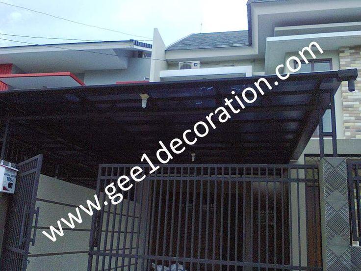 aluminium, kusen, kaca, partisi,  pintu, jendela, lipat, geser, swing, jungkit, pivot, sliding, : gambar produk atap canopy polycarbonate
