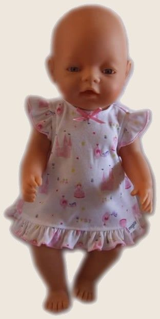 Nightie - to fit Baby Born or Cabbage Patch dol (www.notinshops.com.au) $14.00