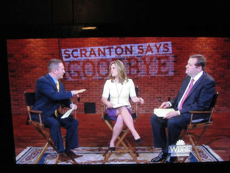 Josh Odell, Monica Madeja. Mark Heller of WBRE TV 28 ...