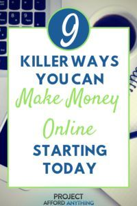 Entdecken Sie 9 AWESOME & KILLER-Möglichkeiten, mit denen Sie ab heute online Geld verdienen …   – Make Money Blogging