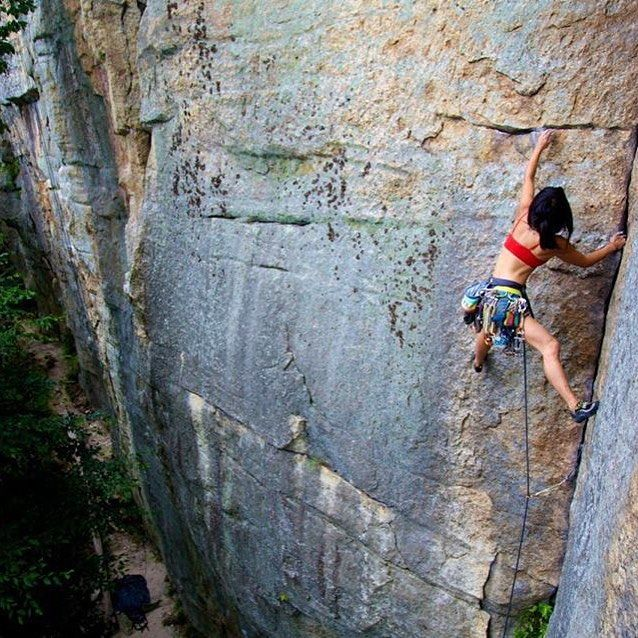 Mac Island Rock Climbing