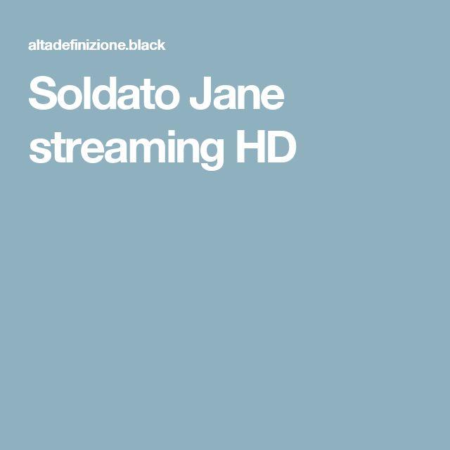 Soldato Jane streaming HD
