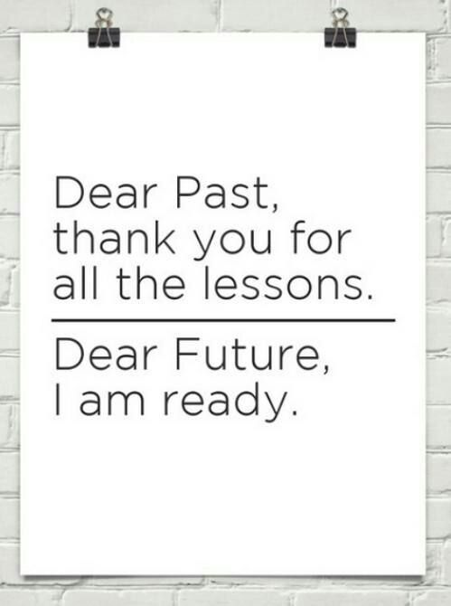 #Inspiration | We <3 This. Past vs. Future. #GetReady