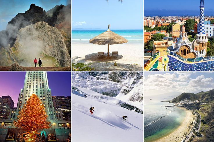 Die besten Reiseziele für jeden Monat des Jahres
