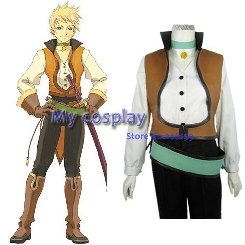 ==> [Free Shipping] Buy Best Tales of the Abyss Guy Cecil Men's Cosplay Costume Male costume Men Clothes Halloween Costumes -- Freeshipping Online with LOWEST Price   522804030