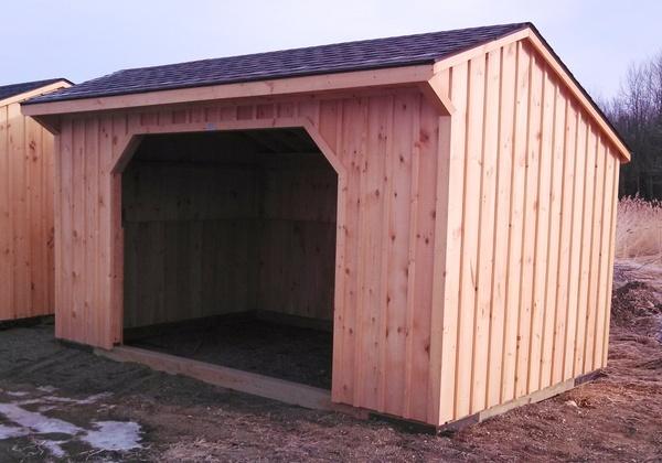 Run In Sheds And Barns : Pine run in horse barn barns pinterest