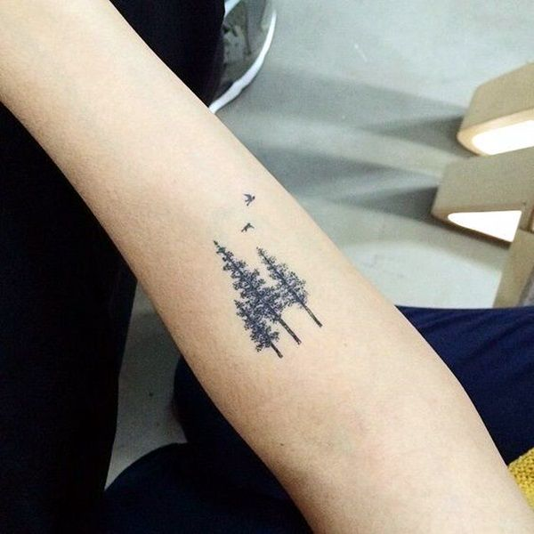 Deep and Super Cool Forest Tattoo Ideas (10)