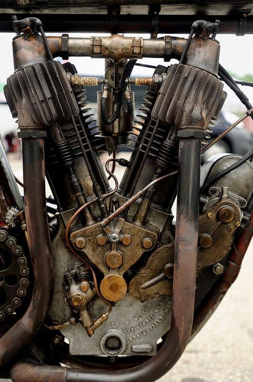 Indian engine manufactured by Hendee, Springfield