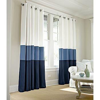 Curtain idea for nursery