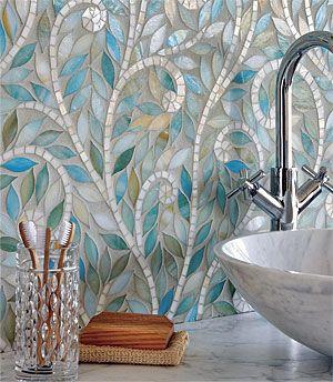 Indian-Inspired Mosaics Backsplash Gorgeous