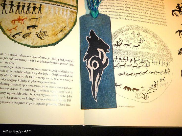 Ręcznie malowane zakładki do książki