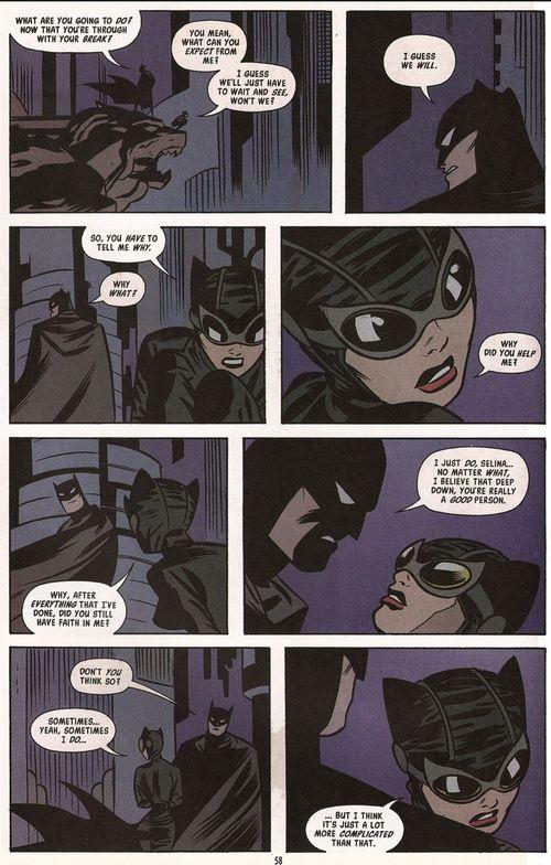 batman, bruce wayne, and catwoman εικόνα
