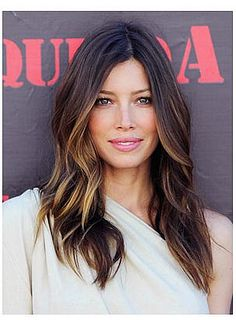 Jessica Biel Balayage Hair by Karen Cheng, via Flickr