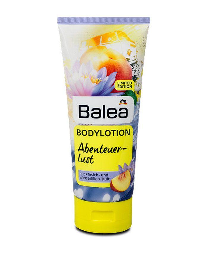 Лосьон для тела от Balea с ароматом персика и водяной лилии пробуждает настоящие летние чувства и дарит хорошее настроение. Интенсивно увлажняет сухую кожу и ухаживает за ней.
