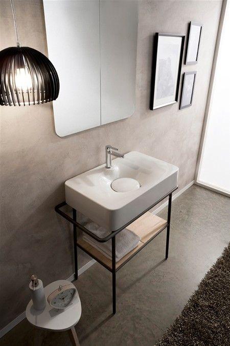 Lavabos contempor neos lavabos pinterest - Wastafel console ...