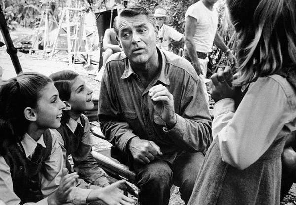 Cary Grant in Father Goose shot in Ocho Rios, St. Ann, Jamaica in 1963.