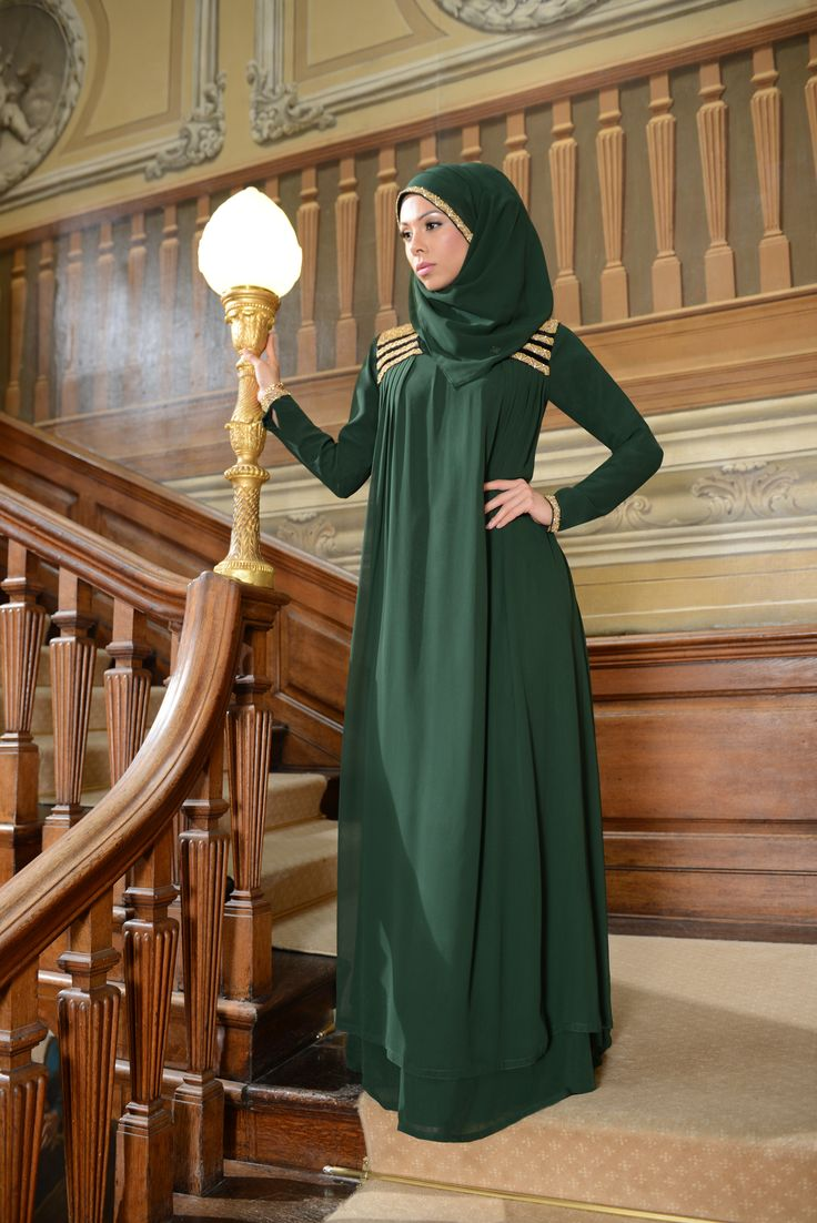 Emerald Pleat | Abaya Collection