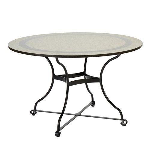 Fontenay Tisch Rund 120 Granitplatte Gartenmobel Pinterest