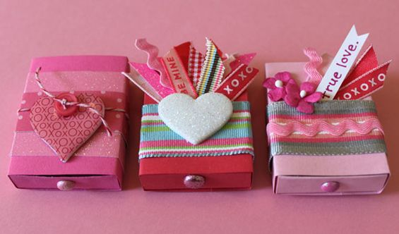 Make Matchbox Valentines with Rachel Johnson...extremely cute idea...excellent tutorial