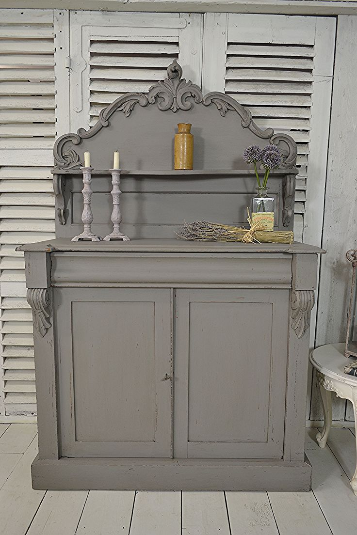 #letstrove Ornate French Saint Hubert 2 Door Sideboard, painted in Farrow & Ball…