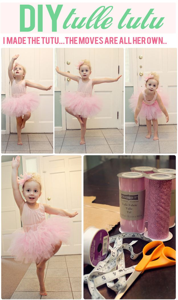 The Busy Budgeting Mama: DIY Tulle Tutu Tutorial
