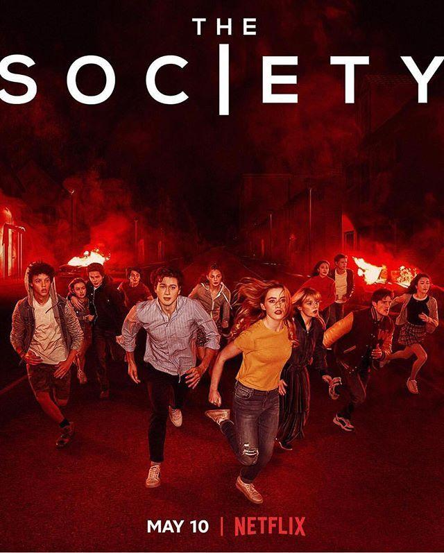 Poster Oficial Da Serie The Society 10 De Maio Na Netflix