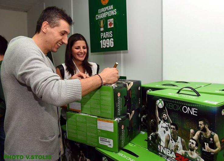 Παρουσιάστηκε το Xbox One Panathinaikos BC Limited Edition Bundle NBA 2K16 SE