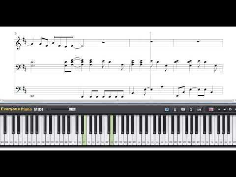 Free Speed of Sound - Coldplay piano Sheet Music - YouTube
