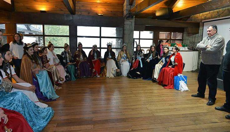 Nuevas Embajadoras de la Nieve participaron de desayuno - Diario el Cordillerano