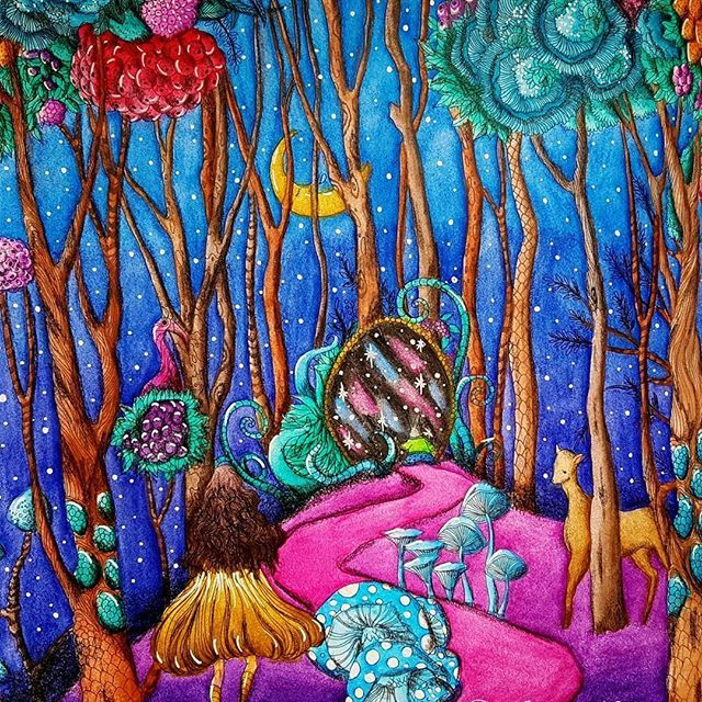 The Story of Pandora 💖 by Kim Sun Hyun and Song Geum Jin Inktense + Mondeluz + Prismacolor Premier #pandorabook #pandoracoloringbook #thestoryofpandora #kimsunhyun #songgeumjin #fantasycoloringbook #aliceinwonderland #adultcoloringbook #coloringbook #colortherapy #coloringforadults #coloringforgrownups #inktense #mondeluz #prismacolor #kolorowaniedladorosłych #tajemniczyswiatpandory #kochamkolorować #kolorowamafia