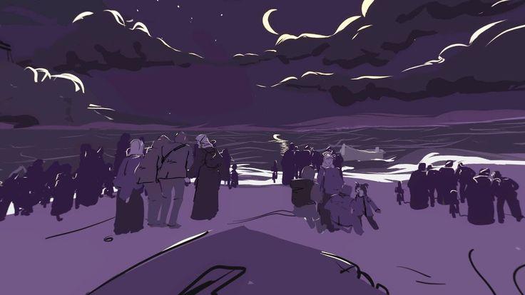 Sea Prayer: a 360 illustrated film by award-winning novelist Khaled Hosseini - YouTube