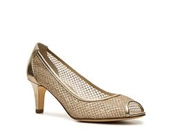 Adrianna Papell Boutique Jessica Pump- honey comb and glitter!  ♡