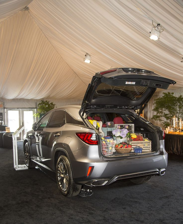 The Lexus RX Can Make Any Run To The Grocery Store Easier. Displayed During  The