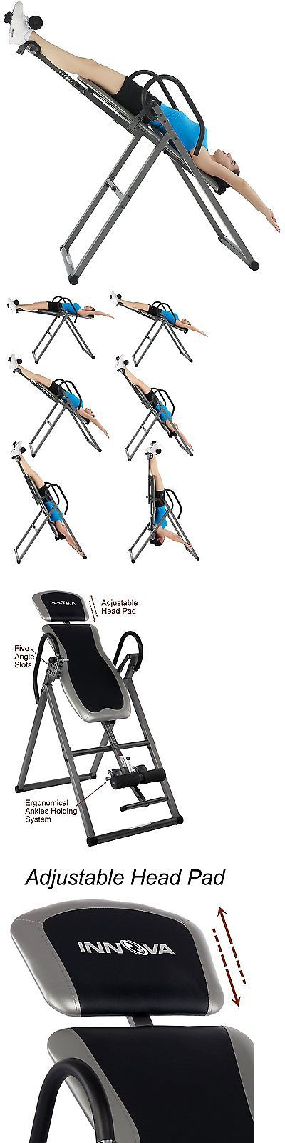 Inversion Tables 112954: Back Pain Inversion Therapy Table Chair Posture Muscle Stretch Exercise Machine -> BUY IT NOW ONLY: $123.45 on eBay!