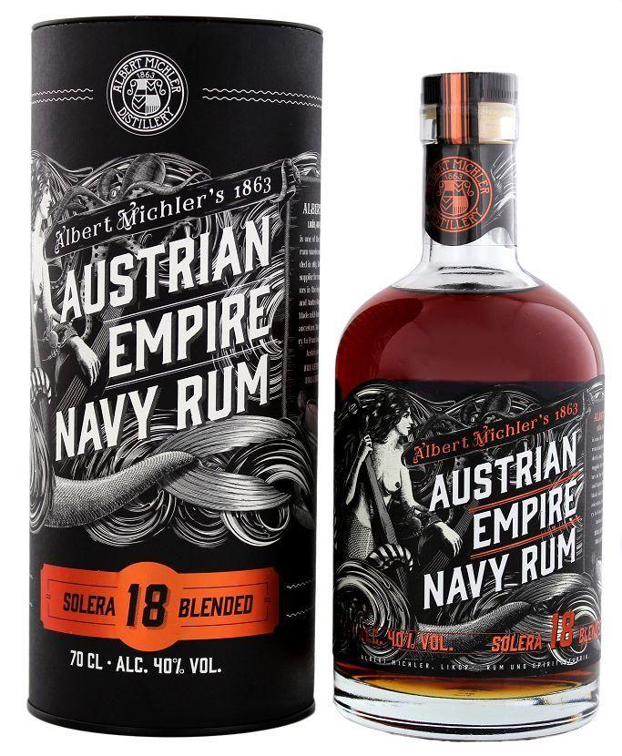 Austrian Empire Navy Rum Solera 18 Years fra $58.73
