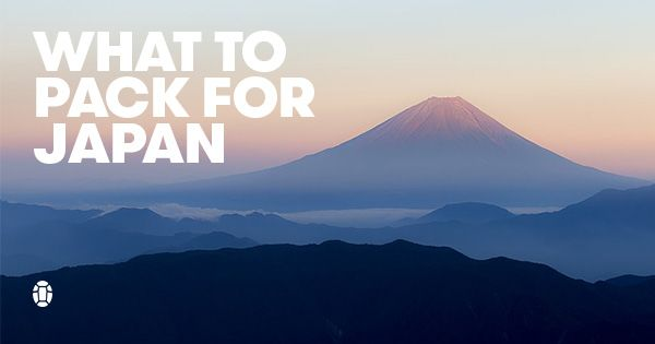 Headed to the Land of the Rising Sun and wondering what to pack for Japan? We've got your Japan packing list, for urban and rural adventures.