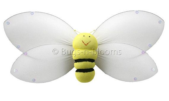 Bumble Bee Birthday Party Decorations Nylon Smiling Bumblebees Yellow Girl Nursery Bedroom Wall Ceiling Hanging Baby Shower Decor Honey Bees