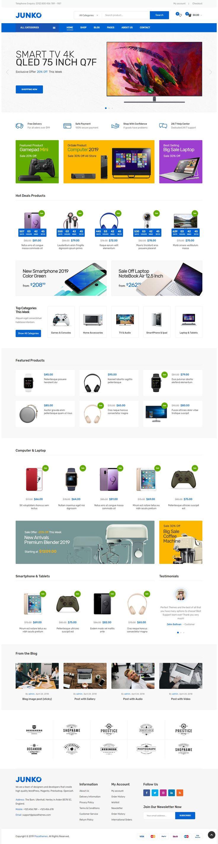 Technology WooCommerce WordPress Theme