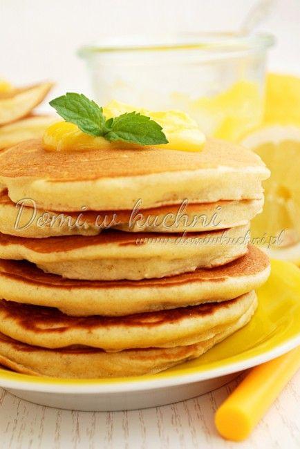 Cytrynowe pancakes