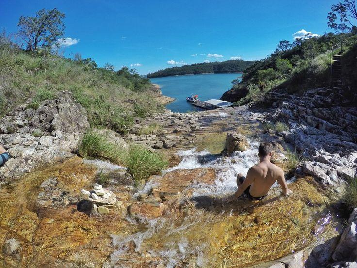 Cachoeira Lagoa Azul, Capitólio - MG